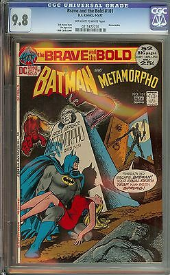 Brave And The Bold #101 Cgc 9.8 Ow/wh Pages // Nick Cardy Cover