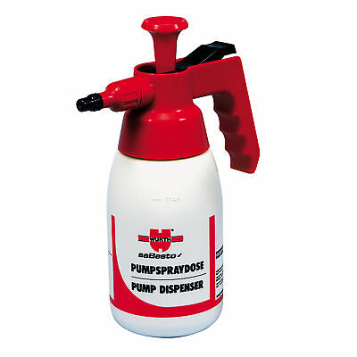 Wurth 1 Litre Capacity Brake & Clutch Fluid Cleaner Pump Dispenser Bottle