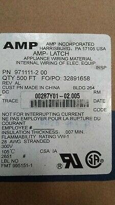 AMP/ Madison Cable 971111-2 (ROLL OF 500 FEET OF 25 WAY RIBBON CABLE)