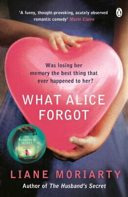 What Alice Forgot, Moriarty, Liane Paperback Book The Cheap Fast Free Post