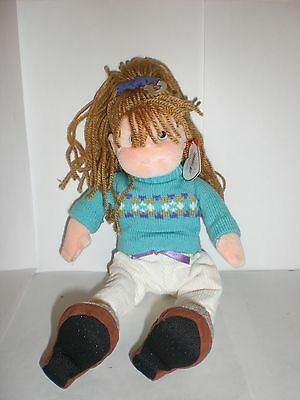 Ty Original Beanie Boppers Cool Cassidy Girl Doll New With Tags
