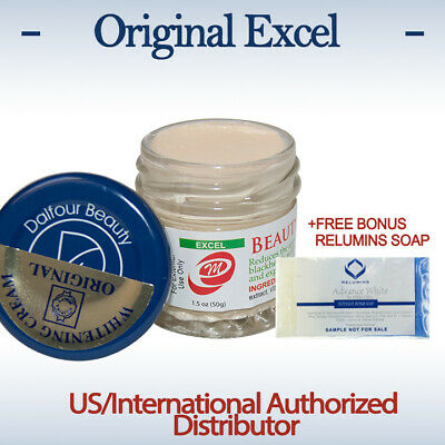 Original St. Dalfour Gold Seal EXCEL Beauty Whitening Cream-Maximum Strength
