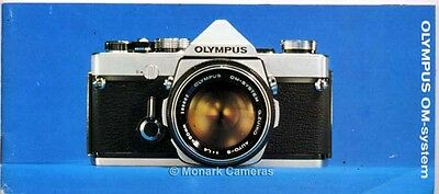 Olympus OM1 Camera, Lens & Accessory Brochure - Original Version. Others Listed