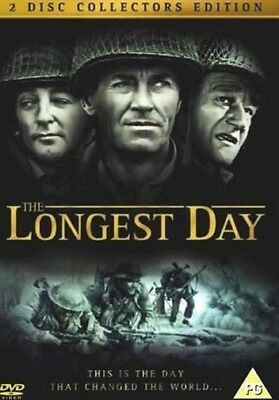 The Longest Day DVD 1962 John Wayne Robert Ryan Richard Burton and Henry Fonda