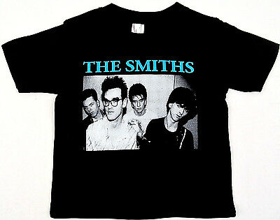The SMITHS T-shirt Morrissey 80's Rock Tee Baby Infant 6M,12M,18M,24M Black New