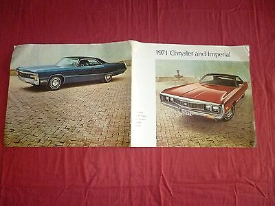 N° 2122 bis / grand catalogue  CHRYSLER  and  Imperial  1971  english text
