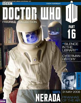 Doctor Who Figurine Collection Issue 16 Vashta Nerada Factory Sealed New
