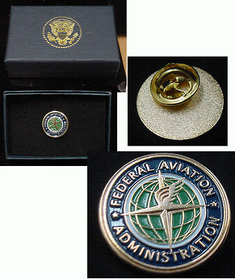 Federal Aviation Administration Faa  Lapel Pin     New