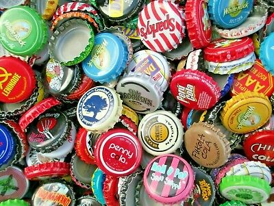 "100 American dent free, ""soda bottle caps"". Listing in Soda & Root Beer category"