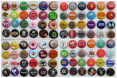 "500  Soda Bottle Crown Caps.""Uncrimped"" Listing in Soda/Beer category"