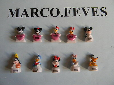 FEVE SERIE COMPLETE : MICKEY BUSTES 2014 ( Bte B )