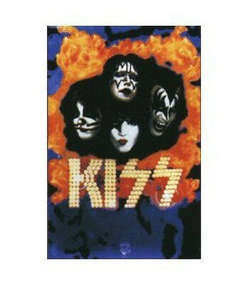 KISS - UNDER FIRE BLACKLIGHT POSTER - 24X36 MUSIC SIMMONS GROUP 3939