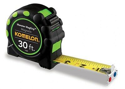 Komelon 7130 30' Monster MagGrip Tape Measure