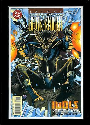 Batman Legends Of The Dark Knight # 81 (DC, 1996, VF / NM) trading card attached