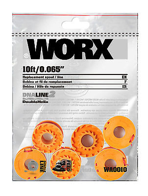 WA0010 Worx Replacement Spools for the Worx GT - 6 Spools