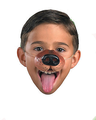 Dog Costume Nose With Elastic, Dog Nose Disguise, Unisex Animal Nose 14714