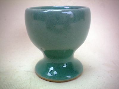 "Denby Manor Green Egg Cup 2"" Tall Excellent Condition Several Available,"