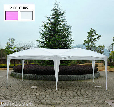 Outsunny 10'x 20' Pop Up Party Tent Gazebo Wedding Canopy Cater Events w/ Bag