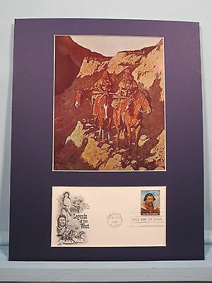"""The Unknown Explorer"" by Frederic Remington & Jim Beckwourth First Day Cover"