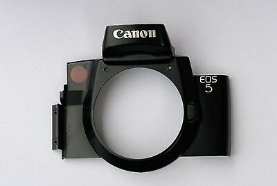 Front Plate For Canon Eos 5 Film Camera. Genuine But Used Spare Part.