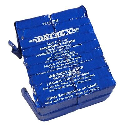 5x Datrex 3600 Calorie Bars Earthquake Emergency Survival Food Ration MRE