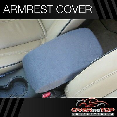 Toyota Highlander (F2X) DARK GRAY Armrest Cover For Console Lid 2008-2013