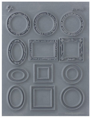 Lisa Pavelka Texture Stamp Sheet Signature Series Framed 527328