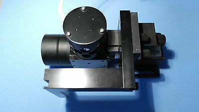 Telecentric lens WD=75mm + axial illuminator 12c AC/DC