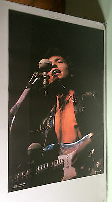 original vintage poster Bob Dylan Live on Stage photograph picture pin-up 1968