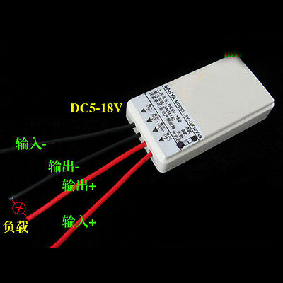 DC 5-18V 12V Solar Light Control Switch Module Controller Night Work/ day Off A