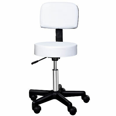 HOMCOM Massage Salon Facial Manicure Barber SPA Chair Stool Swivel Stool