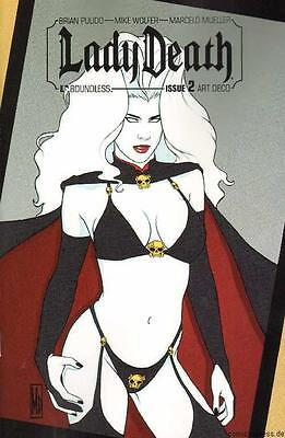 Lady Death Nr. 2 Art Deco Cover