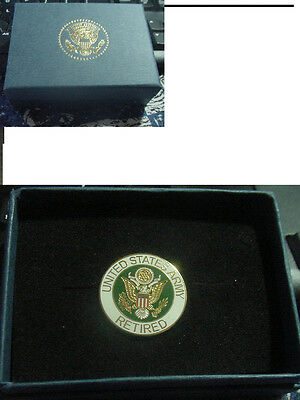 presidential retired army  Lapel Pin