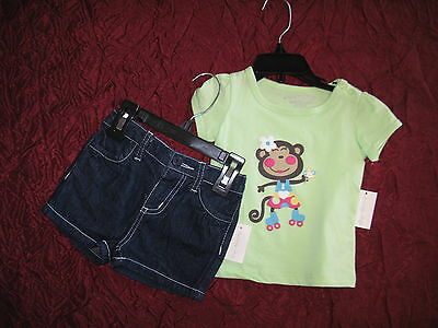 New outfit by Specialty baby 2 piece set  top & shorts Size 12 months
