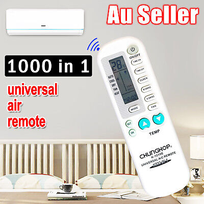 Universal Air Conditioner A/C Remote LCD Controller-Samsung Panasonic Mitsubishi