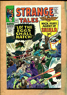 Strange Tales #145 - Lo! The Eggs Shall Hatch! - 1966 (Grade 7.0)  WH