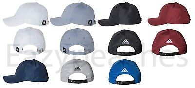 ADIDAS GOLF - NEW CHAMBRAY Reflex or Poly Cap Structured Baseball Hat UPF 50+
