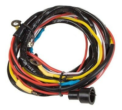 wiring harness ford 2n 2 n 8n 8 n 9n 9 n tractor • 37 32 picclick wiring harness for front mount distributor ford 8n 8 n tractor