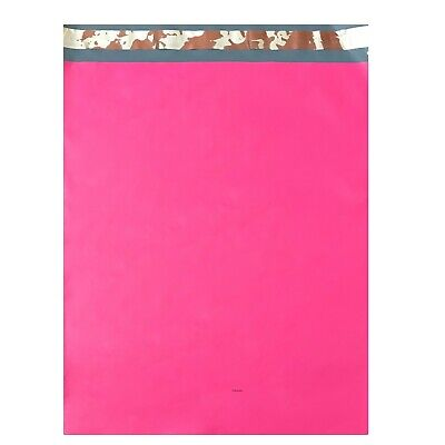 100 10x13 PINK Poly Mailers Shipping Envelopes Couture Boutique Bags 2.5 MIL Bag