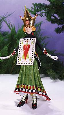 Patience Brewster Krinkles Cards Jacqueline Hearts Christmas Figure 08-30887 New