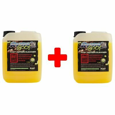 Rhino Goo Motocross-MX-MTB-Bike-Motorcycle Cleaner 10L/Litre Combo (2 x 5 Litre)