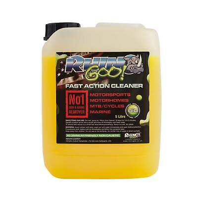 Rhino Goo Motorcycle/Bike/Motocross/MX/MTB Cleaner 5L/Litre - Gets The Muc Off!