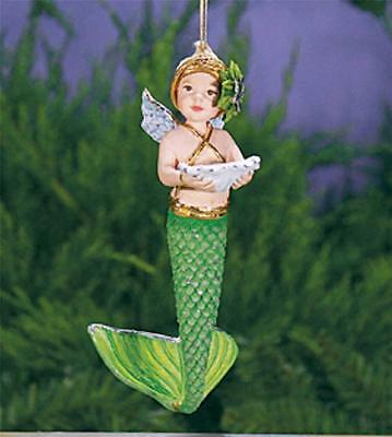Patience Brewster Merbaby Mermaid Mer Baby Christmas Ornament 08-30833 New