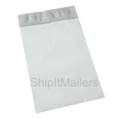 50 Each 9x12 & 10x13 Poly Mailers Envelopes Shipping Bags Total 100 White Silver