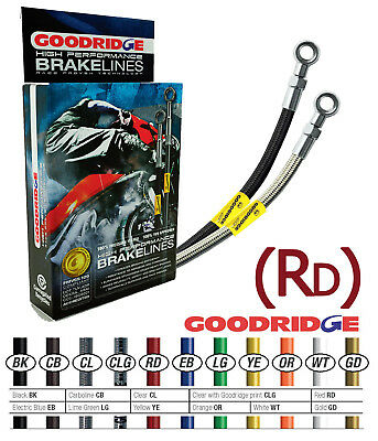 Goodridge (RD) Rear Brake Hose Line Fits APRILIA RSV1000R FACTORY MY 04-09