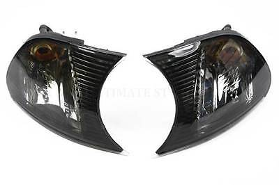 BMW 3 Series E46 2 Door 2001-2003 Smoked Front Indicators Pair Left & Right