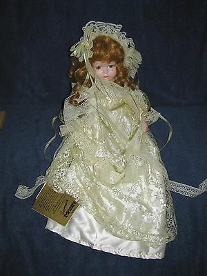 "Vintage 1995 Porcelain ""Rusty"" 14"" Tall Doll  by Seymour Mann"