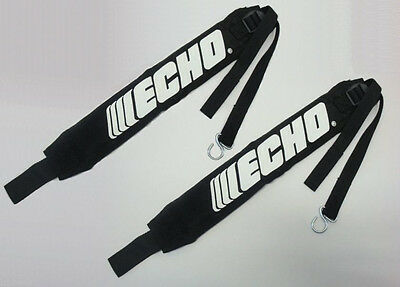 C061000111 Set of 2 Genuine Echo Backpack Blower Straps / Harnesses