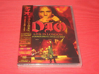 Dio Live In London Hammersmith Apollo 1993  Japan Dvd + 2Cd