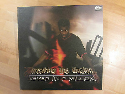 "Breaking The Illusion - Never (In A Million) - Uk 12"" - N/m Rare  2005 Hip Hop"